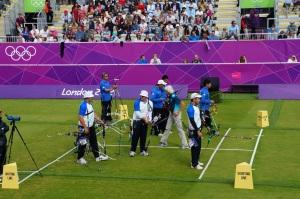 Italian Archery Team